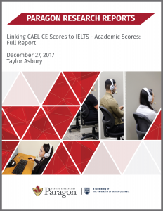 Linking CAEL CE Scores to IELTS-Academic Scores: Full Report